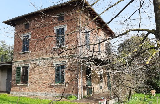 Villa in stile Liberty